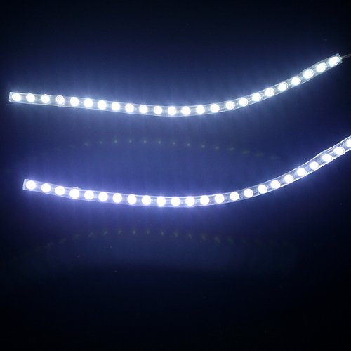 HDE 9 Inch 24 White LED Waterproof Flexible Light