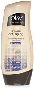 Olay Total Effects Advanced Anti-Aging Deep Penetrating Moisture Body Wash 15.2 Oz (Pack of 2)