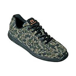 Brunswick Mens Flyer Bowling Shoes- Camo (11 1/2 M US, Camo)