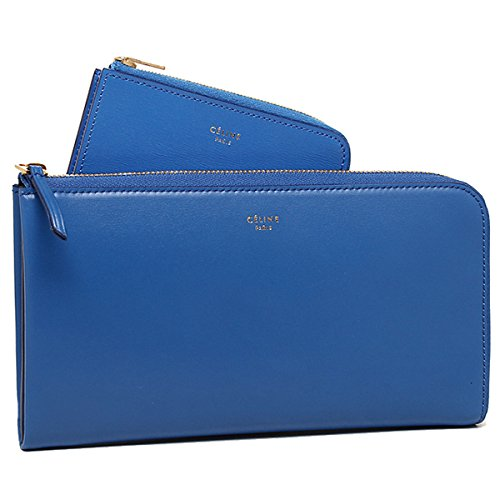 (セリーヌ) CELINE セリーヌ 財布 CELINE 10304 3TFA 07EE LARGE HALF ZIP MULTIFUNCTION 長財布 ELECTRIC BLUE[並行輸入品]