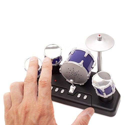 Elektrisches-Mini-Schlagzeug-Elektronische-Micro-Finger-Drums-mit-Aufnahmefunktion