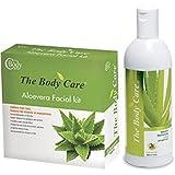 The Body Care Aloevera Facial Kit And Aloevera Moisturizer Lotion 400ml