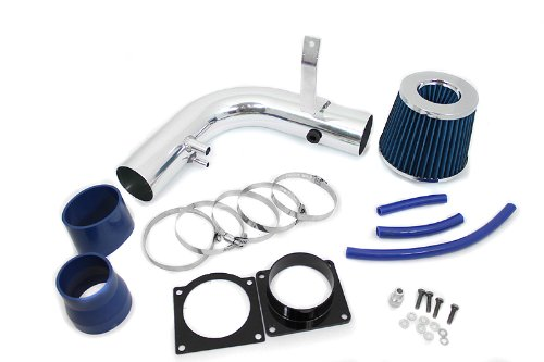 97-03 Ford F-150 / Expedition V8 4.6L & 5.4L / 97-99 F-250 V8 5.4L Short Ram Intake Blue (Included Air Filter) #SR-FD4B (97 Ford F150 Parts compare prices)
