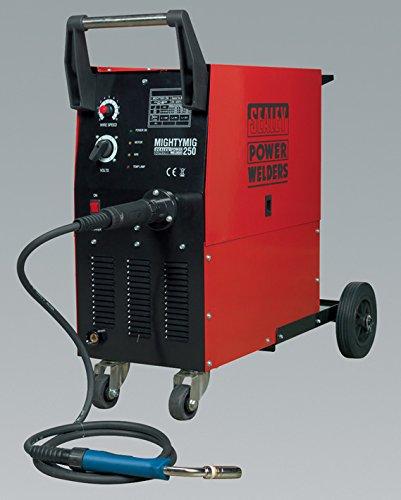 Sealey Professional Gas/Kein Gas, 210 Amp, Euro Torch, Mit MIGHTYMIG250 250Amp jetzt bestellen