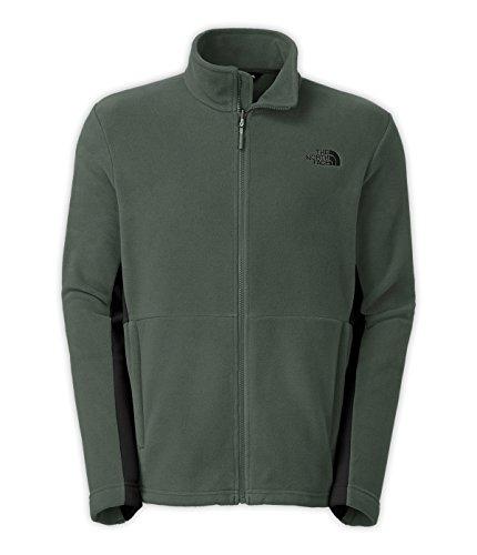 The North Face Khumbu 2 Fleece Jacket Men's (Medium, Spruce Green/TNF Black)