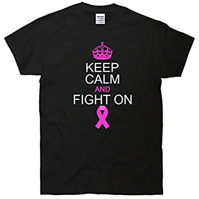 Keep Calm And Fight On Support T-Shirt