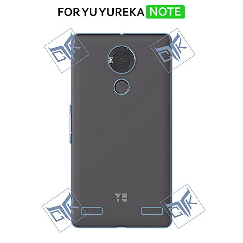 TGK ULTRA Clear Soft Silicon Flexible Transparent Back Cover for YU Yureka NOTE