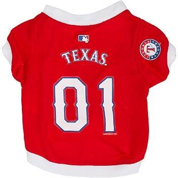 MLB Texas Rangers Red Mesh Pet Jersey