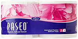 Paseo Tissues Toilet Roll 3 Ply - 300 Pulls (2 Rolls)