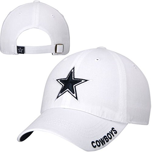 Dallas Cowboys White Slouch Hat (White)