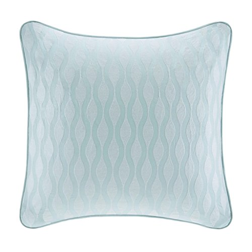 Harbor House Maya Bay Euro Sham, 26 by 26-Inch, Blue (Blue Harbor Collection compare prices)