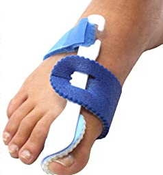 2 Nightime Bunion Regulator Foot Splints Toe Straightener