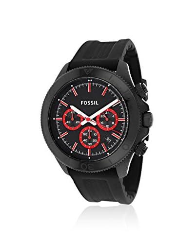Fossil Men's CH2874 Retro Traveler Black Silicone Strap Watch