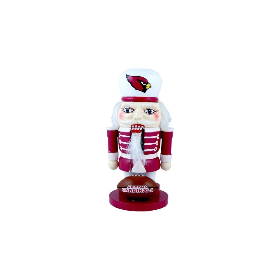 "NFL Arizona Cardinals Elite 7"" Nutcracker Sports & Outdoors"