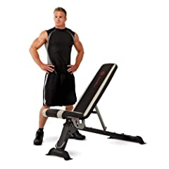 Marcy Adjustable Utility Bench - SB670 by Marcy