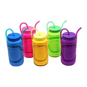 Amazon.com: Krazy Straw Sports Bottle: Toys & Games