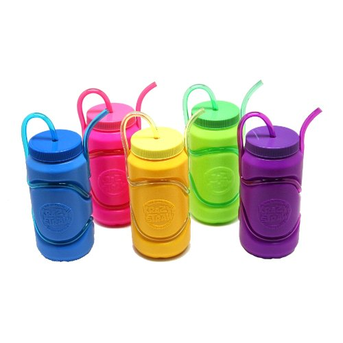Kids Water Bottles With Straw front-1026301