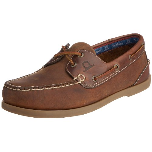 Chatham Marine Men's Bermuda G2 Boat Shoe Walnut/Seahorse D700-100 10 UK