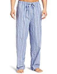 Nautica Men\'s Sultan Stripe Woven Pajama Pant, Cornflower, X-Large