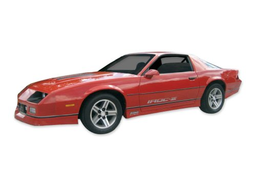 1985 1986 1987 Chevrolet Camaro IROC-Z Decals & Stripes Kit - SILVER (3rd Generation Camaro Accessories compare prices)