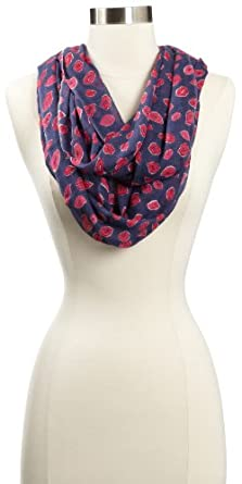 Lilly Pulitzer Women's Murfee Infinity Loop Scarf, Bright Navy, One Size