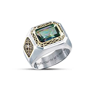 mystic topaz s ring the legend of ireland by the