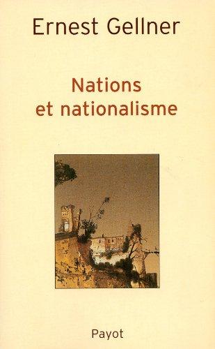 Nations et nationalisme