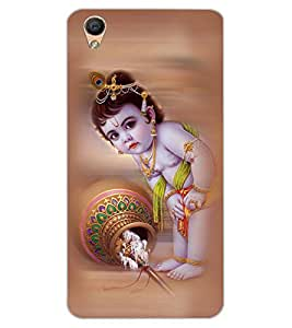 ColourCraft Lord Bal Gopal Design Back Case Cover for OPPO R9