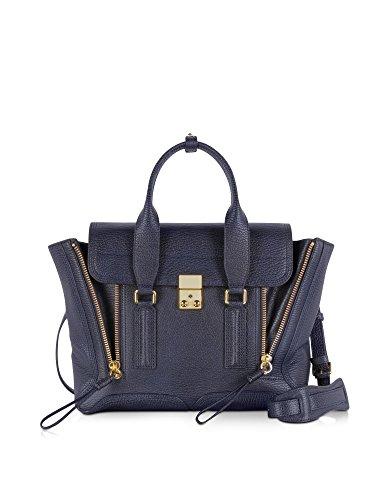 phillip-lim-womens-ac000179skcink-blue-leather-handbag