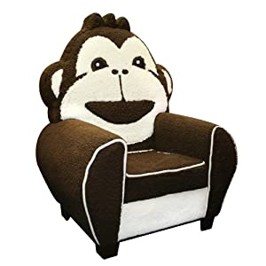 Newco International Cuddle Monkey Seat, Brown