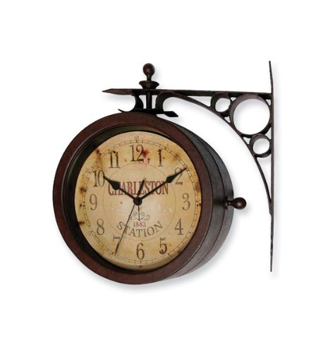 Double Sided Indoor Outdoor Clock