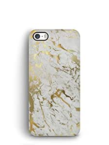Cover Affair Marble Printed Back Cover Case for Apple iPhone 5S