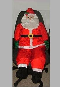 4 1 2 ft stuffable santa claus christmas yard for 4 foot santa claus decoration
