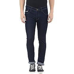 Stylox Mens Dark Blue Slim Fit Jeans