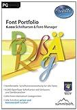 Digital Software - Font Portfolio - 6.000 Schriftarten & Font-Manager [Download]