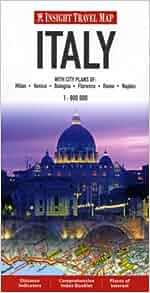Insight Travel Maps: Italy: Apa: 9789812589309: Amazon.com: Books