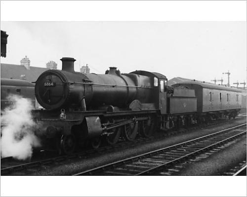 photographic-print-of-grange-class-locomotive-no-6864-dymock-grange-at-oxford-1958