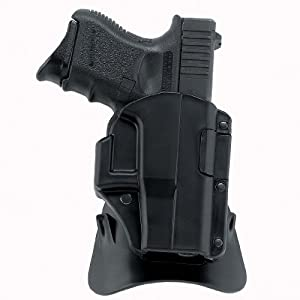 Galco M4X Matrix Auto Locking Holster for 1911 3-Inch Colt, Kimber, Para, Springfield (Black, Right-hand)