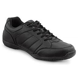 SR Max Rialto Women\'s Black Slip Resistant Athletic Sneaker - 7.5 M