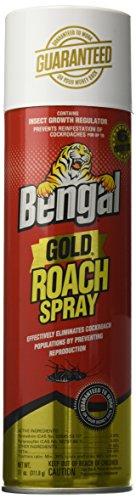 BENGAL CHEMICAL Gold Roach Spray, 11 oz
