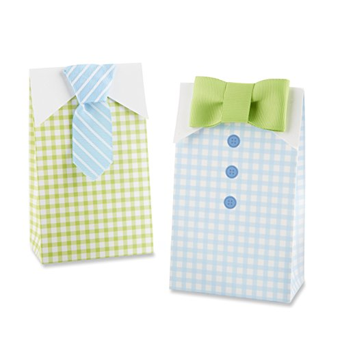 Baby Aspen My Little Man Candy Bags (Set Of 24 Assorted)