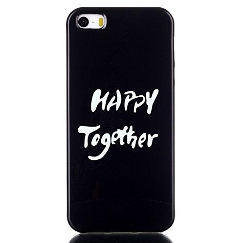 Uming® Copertura di caso della TPU colorful soft modello della stampa Case Cover ( Happy Together - per IPhone6SPlus IPhone 6SPlus 6Plus IPhone6Plus ) Sacchetto di caso della copertura della protezione del silicone del telefono cellulare
