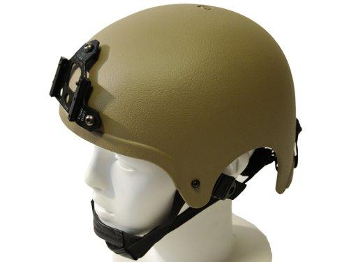 IBH インテグレート バリスティック ヘルメット WILCOXタイプブラケットセット カーキ レプリカ