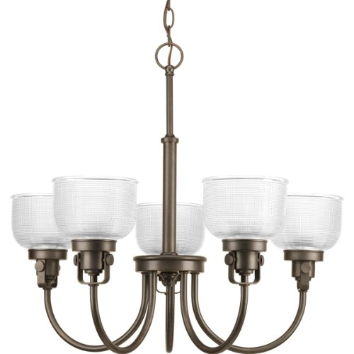 B00BBVHQ5Y Progress Lighting P4689-74 Med Chandelier, 5-100-watt