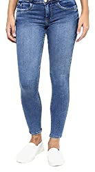 Fourgee Womens Jeans (38hds1--32, Blue, 32)
