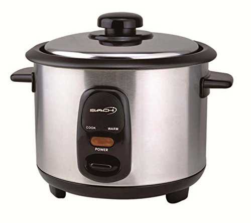 Automatic Rice Cooker ~ Saachi rc e cup automatic rice cooker uncooked with