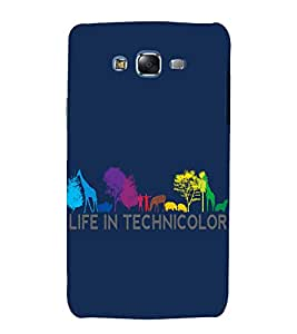 printtech Nature Technicolor Back Case Cover for Samsung Galaxy J5 / Samsung Galaxy J5 J500F