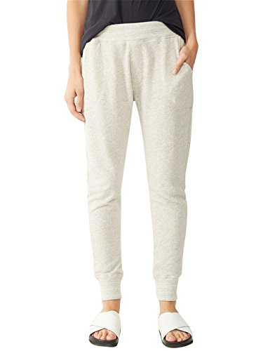 Alternative Womens Organic Light French Terry Sweatpants Large Heather Grey (Alternative French Terry compare prices)