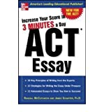 ACT Essay: Increase Your Score in 3 Minutes a Day (Increase Your Score) (Paperback) - Common