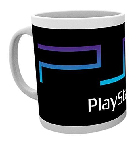 GB eye LTD, Playstation, PS2 Logo, Tazza